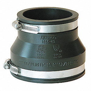 COUPLING,4 IN X 3 IN