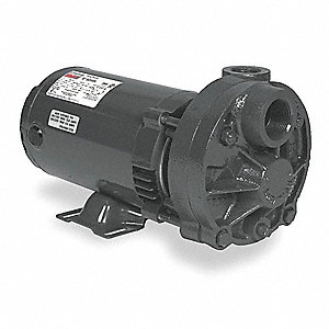 1 HP Turbine Pump, 115/230 Voltage, Max. Pressure (PSI):  300