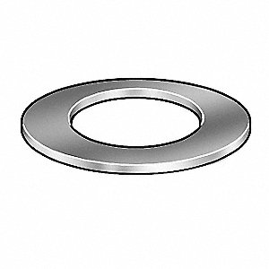 Silicone Washer,Fits 3/8 In,PK50