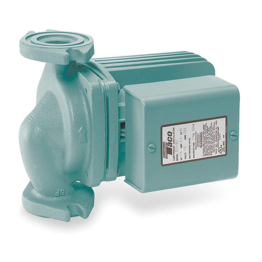 TACO 0013-F3 Hydronic Circulating Pump,1/6HP 687752210590