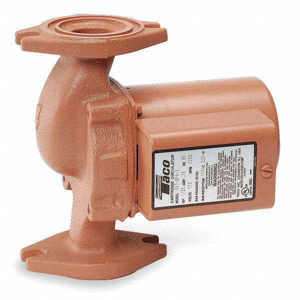 Taco 1 25 Hp Bronze Hot Water Circulator Pump 4pc89 007