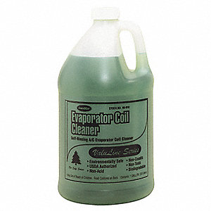 Evaporator Cleaner, 1 gal., Green Color, 1 EA
