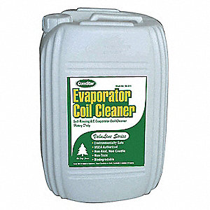 Evaporator Cleaner, 5 gal., Green Color, 1 EA