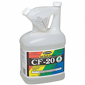 Internal Coil Flushing Agent, 1 gal., Clear Color, 1 EA