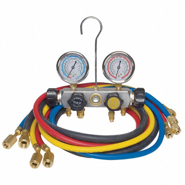 Dayton manifold gauge set valve hoses pdg