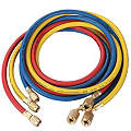 Manifold Hose Set, 72 In, Red, Yellow, Blue