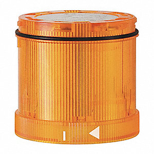 120VAC Steady Burn Tower Light Module with 70mm Dia., Yellow