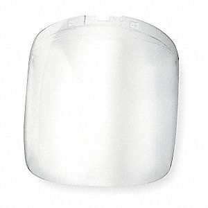 Faceshield Visor,Polycarb,9x12-1/8in