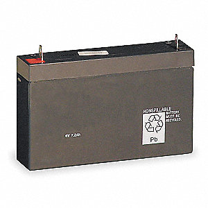 6V, 6.5Ah Lead Acid Battery