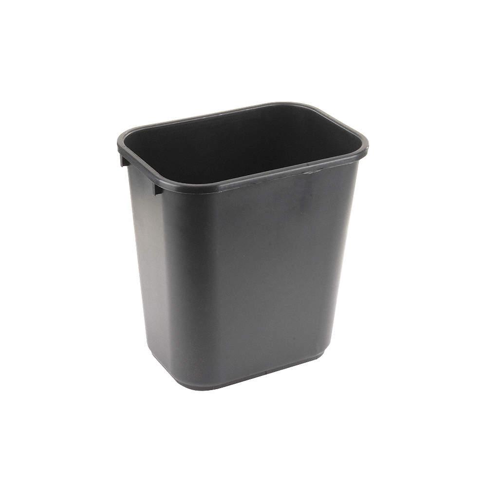 TOUGH GUY 7 gal Beige 15-1//4/'/'H Rectangular Open Top Utility Wastebasket