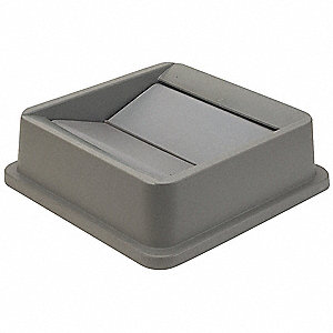 Gray Swing Trash Can Top, 19 gal., 23 gal.