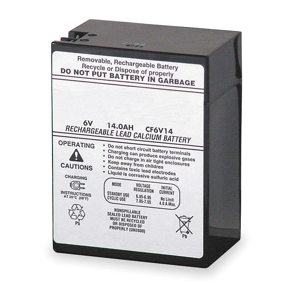 Lithonia Lighting 6v 14ah Sealed Lead Acid Battery 4ph12 Elb 0614 Charger Circuit Zoom Out Reset Put Photo At Full Then Double Click