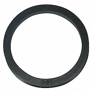 9mm x 5mm Stretch Fit V-Ring Seal, Black
