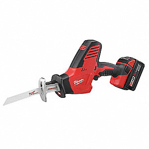 M18 Cordless Reciprocating Saw Kit, 18.0 Voltage, Fixed Shoe Design, Battery Included