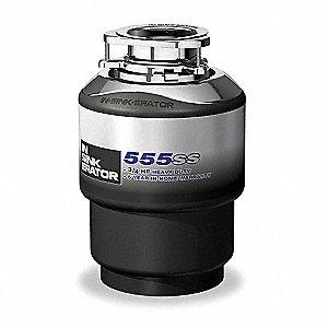 3/4 HP Waste Disposer, 115V Voltage