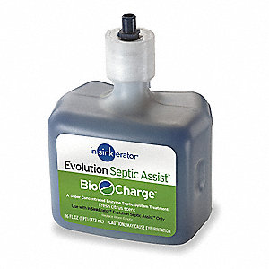 Bio-charge Refill, For Use With Septic Disposer