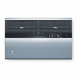 208/230V Window Air Conditioner, 27,000/27,500 BtuH Cooling, Silver, Includes: LCD Remote Control, W