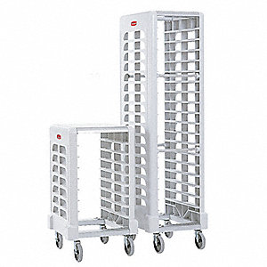 End-Load Rack,18 5/8x23 3/4x67 7/8,White