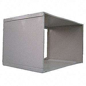 Wall Sleeve,15-5/8 x 25-3/8 x 17-9/16 In