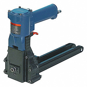 Air Hand Clinch Stapler, Bottom, Heavy Duty, Staple Capacity 100, Crown 1-3/8""