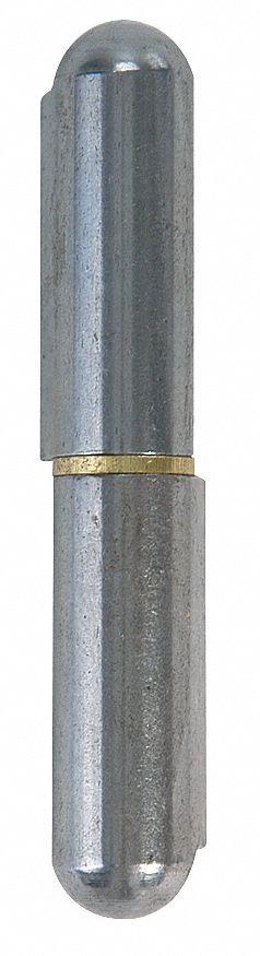 "MARLBORO 4PPR3 1-1//8/""W x 7-7//8/""H Mill Steel Weld-On Hinge"