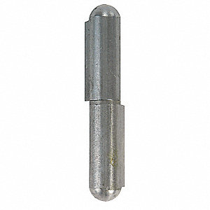 "25/32"" x 3-15/16"" Stainless Steel Weld-On Hinge Without Holes and 360.0 lb. Load Capacity"