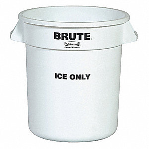 10 GALLON BRUTE CONTAINER ICE ONLY