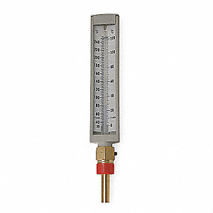 Compact Thermometer,30 to 240 F,Lower