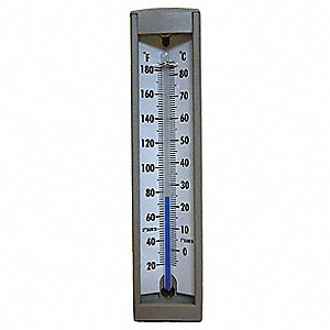 Compact Thermometer,-40 to 110 F,Back