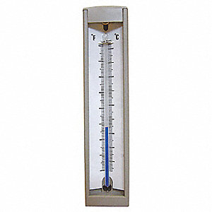 Compact Thermometer, 20 to 180 F, Back