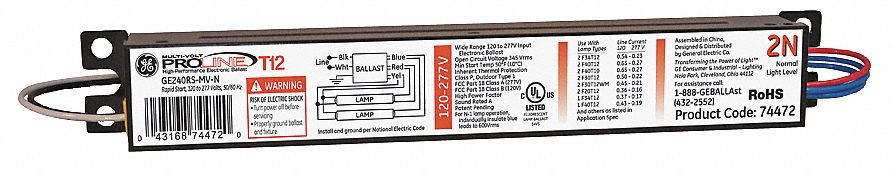 4PRX3_AS01 ge lighting electronic ballast,t12 lamps,120 277v 4prx3 ge240ps ge-240-rs-mv-n wiring diagram at n-0.co
