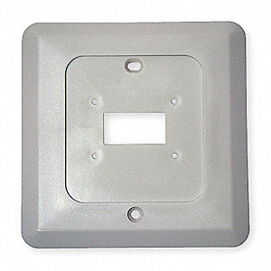 Wall Plate Wall Mounting Plate, For Use With: 4PU51