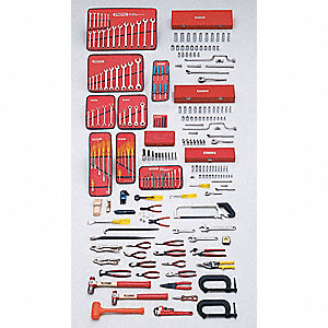 Metric Master Tool Set, Number of Pieces: 229, Primary Application: Intermediate