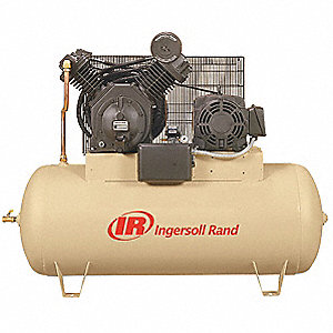 Electric Air Compressor,2 Stage,15 HP