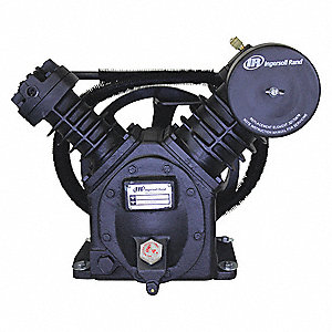 2-Stage Splash Lubricated Air Compressor Pump with 43 oz. Oil Capacity