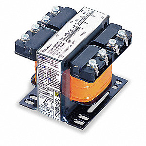 Control Transformer, Input Voltage: 208VAC, 230VAC, 460VAC, Output Voltage: 120VAC