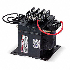 Control Transformer, Input Voltage: 208VAC, Output Voltage: 120VAC