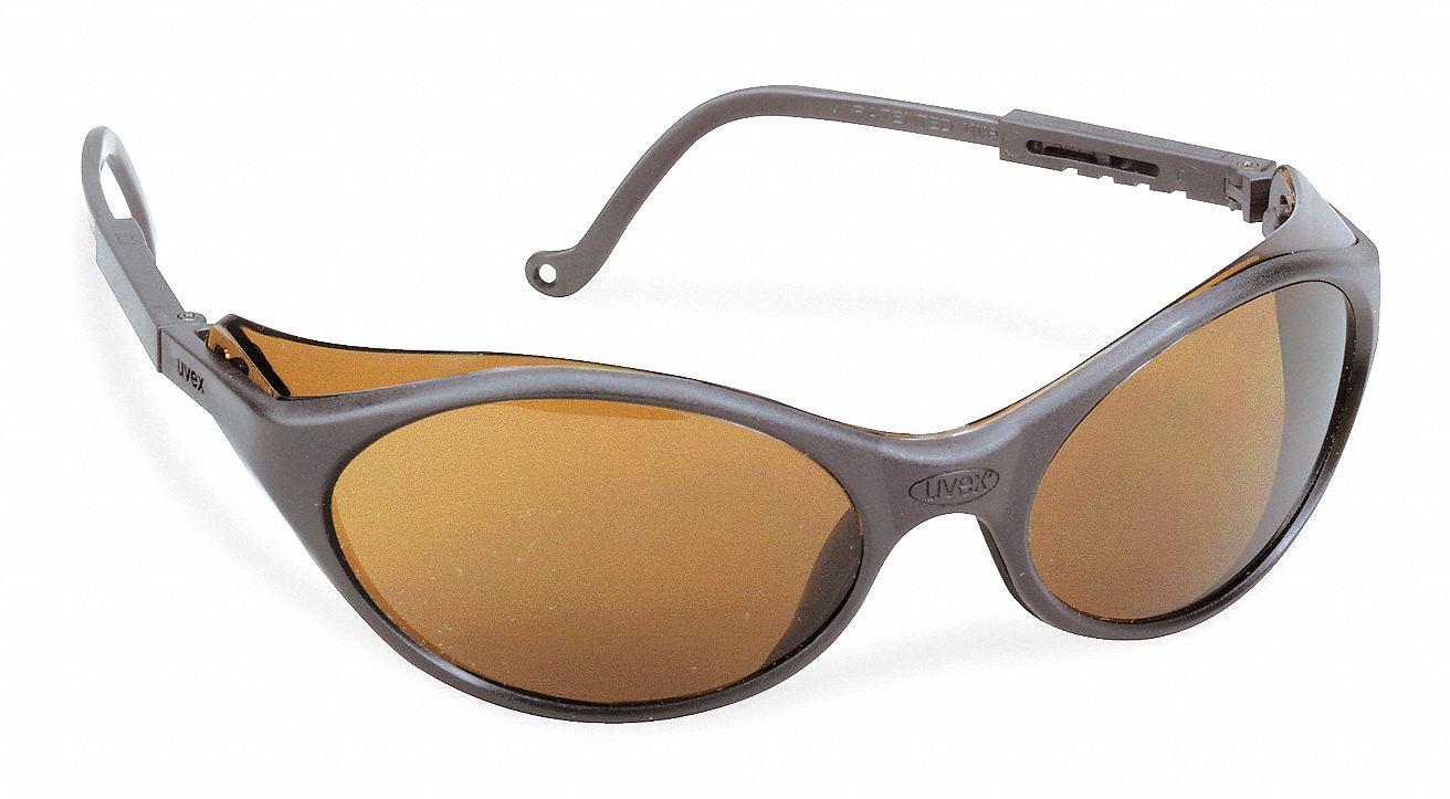 Eyeglass Frame Inventory Management : HONEYWELL UVEX Bandit Scratch-Resistant Safety Glasses ...