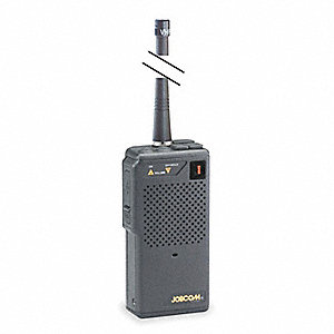 VHF LED Portable Two Way Radio, Number of Channels 10