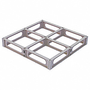 Pallet,Full 4-Way,24 In. L,24 In. W,Brwn