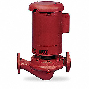 3/4 HP Cast Iron In Line Centrifugal Hydronic Circulating Pump