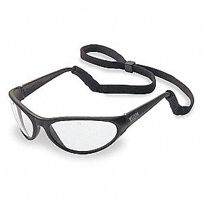 Prevail Uncoated Safety Glasses, Indoor/Outdoor Lens Color
