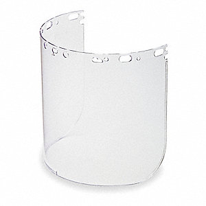 Faceshield Visor,Propionate,Clr,8-1/2x15