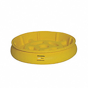 Drum Spill Tray,10 Gal