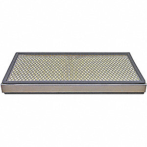 Cabin AirFilter,Element Only,Rectangular