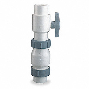 CHECK VALVE,1-1/2 IN,SOCKET,PVC