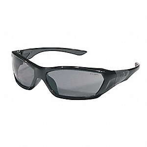 ForceFlex® Scratch-Resistant Safety Glasses, Gray Lens Color