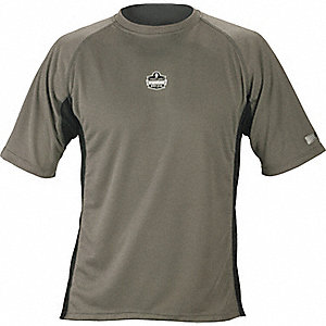 SHIRT MID LAYER RELAX FIT GRAY 3XL