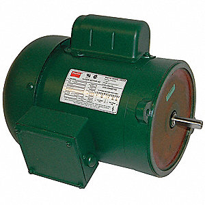 3/4 HP Auger Drive Motor,Capacitor-Start,1745 Nameplate RPM,115/230 Voltage,Frame 56N