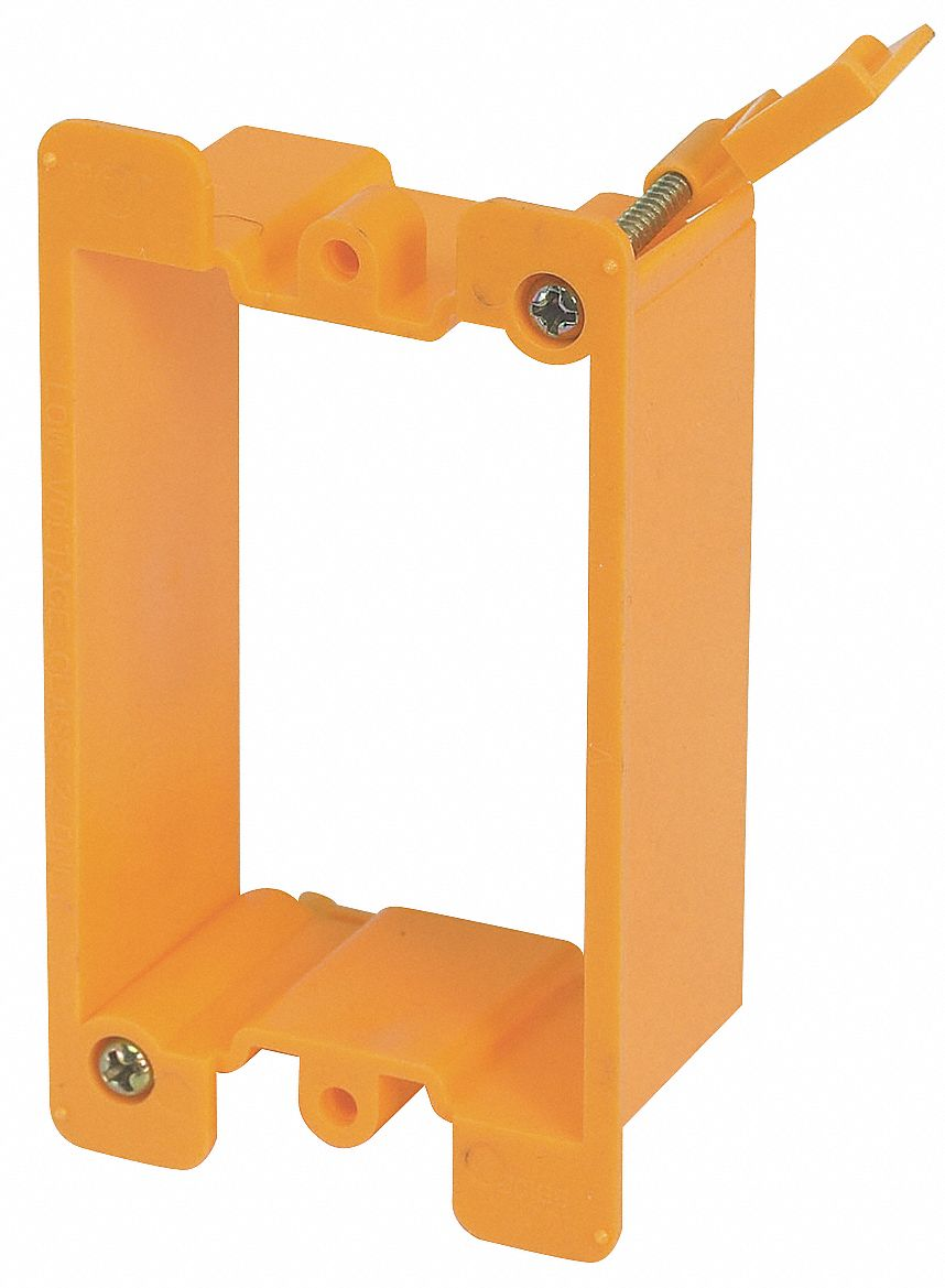 Communication Mounting Bracket,  Mounting Accessories,  Plastic,  Orange